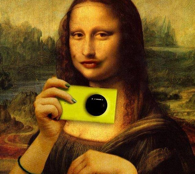 selfie monnalisa